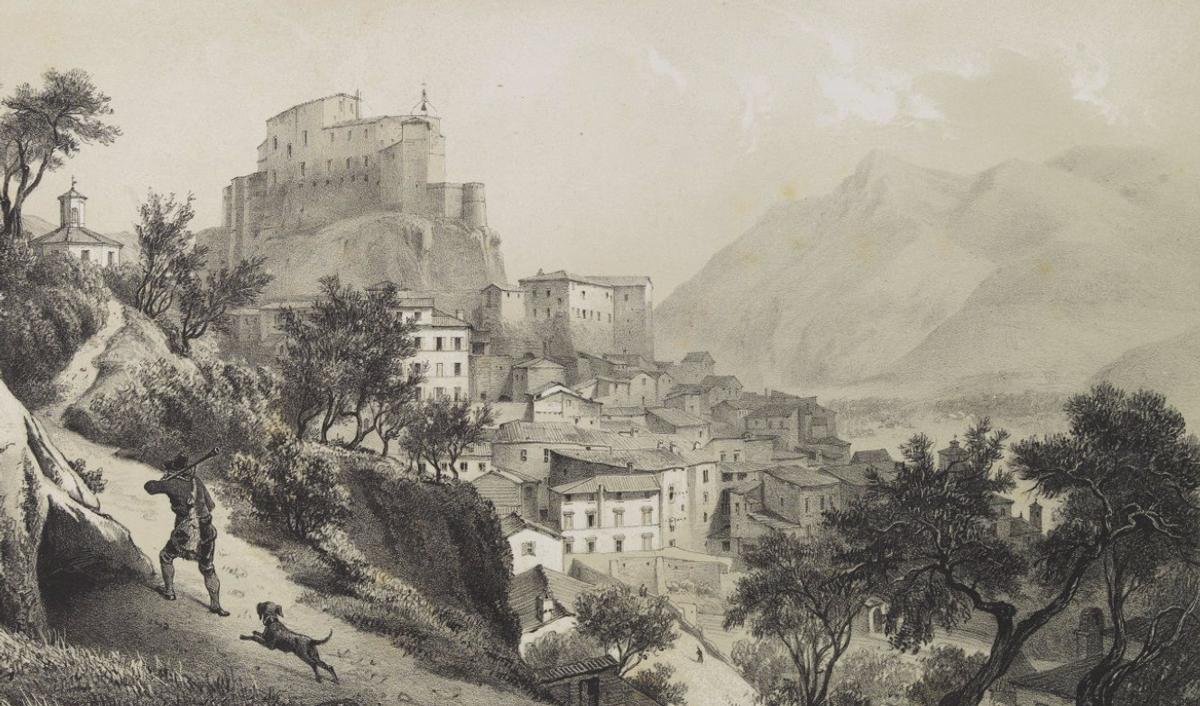 C.J. Billmark - Subiaco. Environs de Rome (da swaen.com)