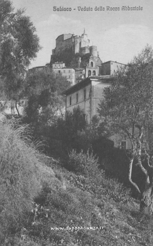 Subiaco - Rocca Abbaziale (da subbjacumeo.it)