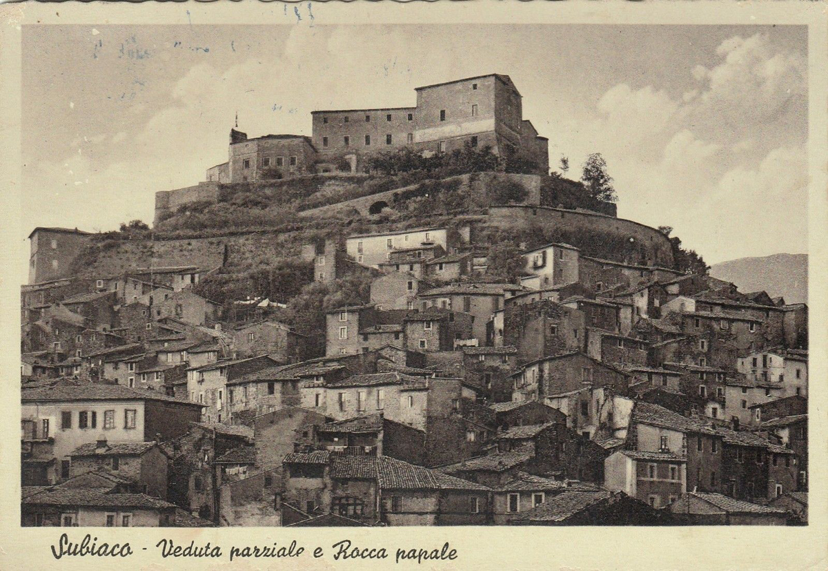 Subiaco - Cartolina (da eBay.it)